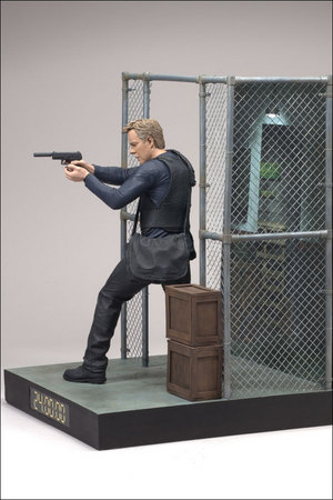 24's Jack Bauer with gun and satchel