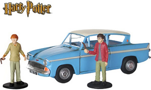 Corgi diecast Ford Anglia from Harry Potter