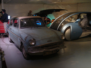 Mr Weasley's Ford Anglia from Harry Potter