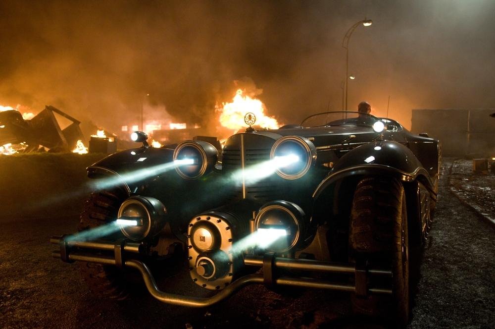 Red Skull's car in Captain America The First Avenger