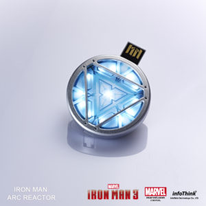 Iron Man's arc reactor - USB key
