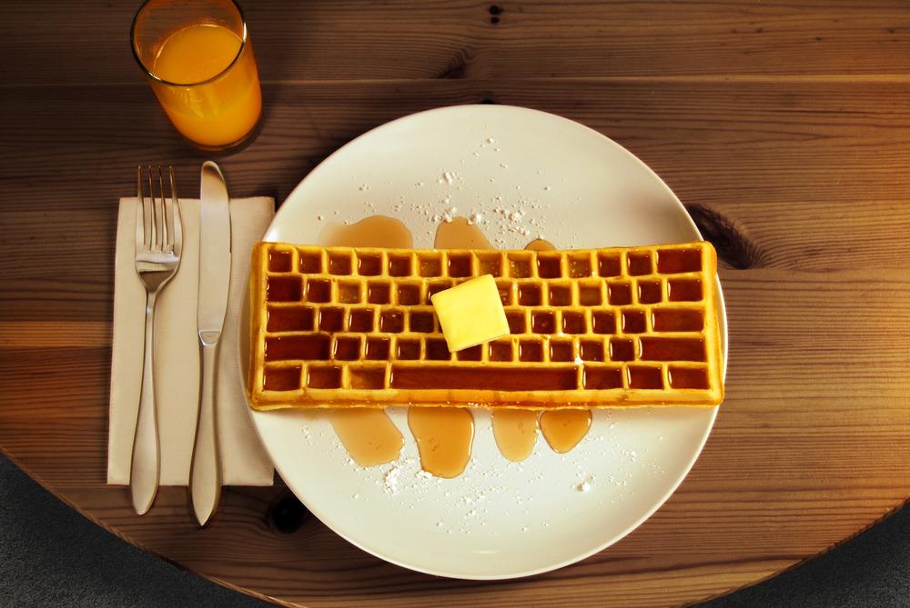waffle-made-keyboard-waffle-iron