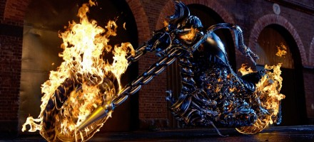 The bike from Ghost Rider