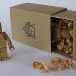 Handmade wooden Lego inspired toys