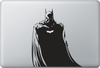 batman macbook skin