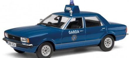 Corgi's 1:43 diecast garda car