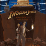 "Laurent Durieux ""Indiana Jones and The Raiders of The Lost Ark"" Limited Release Poster"