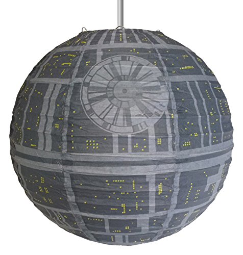 star wars death star paper lantern light shade
