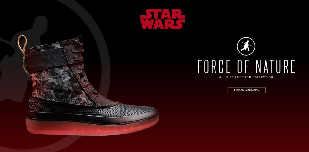 Clarks footwear Star Wars