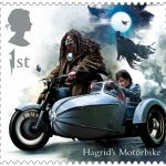 Hagrid's motorbike - Harry Potter Royal Mail